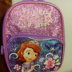 New Small Princess Sofia Back Pack